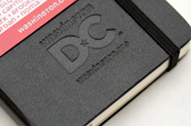 DC Branded Moleskine Notebooks